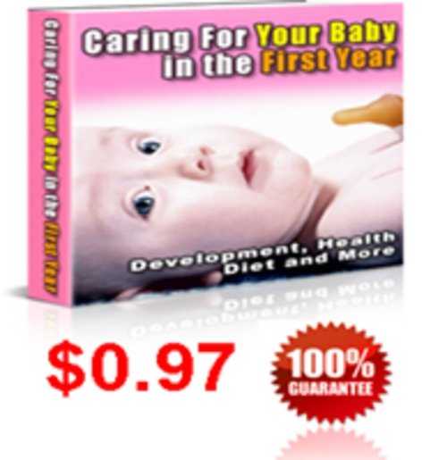 Product picture Caring for your Baby in First Year
